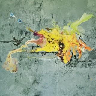 `10.16`.150x120cm, 2016r.Akryl i Monotypia na Płótnie, dostępny